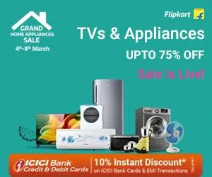 Flipkart Appliances Sale