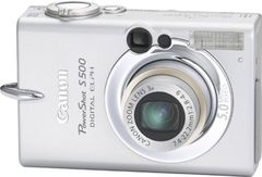 Canon PowerShot S500 5MP Digital Camera