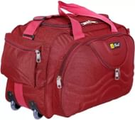 Inte Enterprises (Expandable) Red699 Duffel Strolley Bag  (Red)