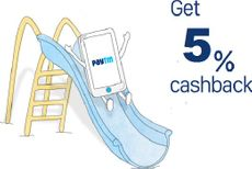 Get 5% Cashback (Upto Rs. 200) on Recharge & Bill Payment at Rs. 1