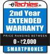 Etechies SmartPhone 1 Year Extended Basic Protection (For Device Worth Rs 0 - 2000)