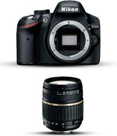 Nikon D3200 with Tamron 18-200mm Lens