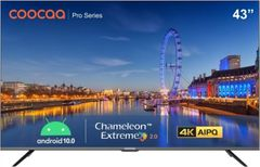Coocaa 43S6G Pro 43-inch Ultra HD 4K  Smart LED TV