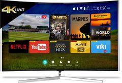 CloudWalker CLOUD TV 65SU-C (65-inch) Ultra HD 4K Curved Smart LED TV