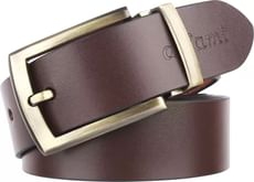 Urban Alfami Men Formal, Casual, Party Brown Genuine Leather Belt