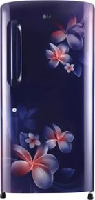 LG GL-B221ABPX 215 L 4-Star Direct Cool Single Door Refrigerator