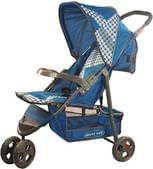 Notty Ride Three Wheel Baby Stroller-Pram (Blue)