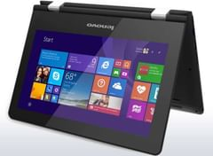 Lenovo 300 Yoga Series 80M00011IN Laptop (PQC/ 4GB/ 500GB/ Win8.1/ Touch)