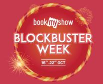 Bookmyshow Diwali Week Offer : Save Upto Rs. 300