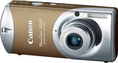 Canon Powershot SD30 5MP Digital Elph Camera