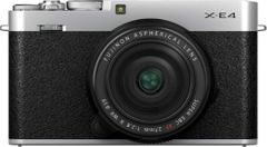 Fujifilm X-E4 26MP Mirrorless Camera with 27mm Lens
