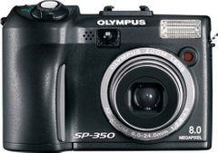Olympus SP-350 8MP Digital Camera