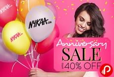 Upto 40% OFF on Makeup, Skin, Appliance & More