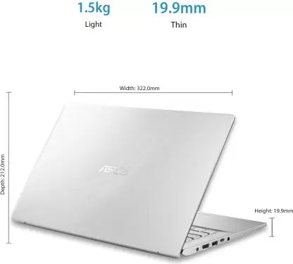 Asus VivoBook X412FA-EK361T Laptop (10th Gen Core i3/ 4GB/ 256GB SSD/ Win10 Home)
