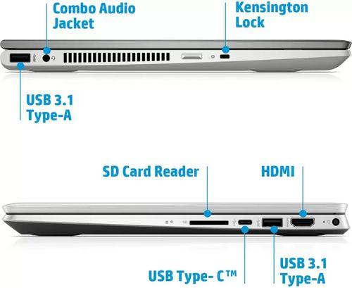 HP Pavilion x360 14-dh0043TU Laptop (8th Gen Core i5/ 8GB/ 256GB SSD/ Win10)