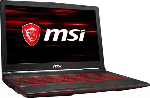 MSI GL63 8SD-632IN Gaming Laptop (8th Gen Core i7/ 16GB/ 1TB 128GB SSD/ Win10 Home/ 6GB Graph)