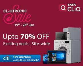 Tata Cliqtronic Sale