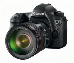Canon EOS 6D DSLR (EF 24-105mm f/4L IS USM)