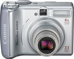 Canon PowerShot A550 7.1MP Digital Camera