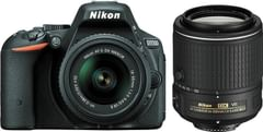 Nikon D5500 DSLR Camera (AF-S 18-55mm+55-200mm Lens)