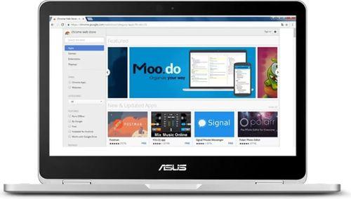 Asus Chromebook C302CA-DHM4 Laptop (8th Gen Core m3/ 4GB/ 64GB EMMC/ Chrome OS)