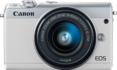 Canon EOS M100 Mirrorless Camera with 15-45mm Lens