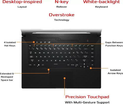 Asus ROG Zephyrus G15 GA502IU-AZ043T Gaming Laptop (Ryzen 7/ 16GB/ 512GB SSD/ Win10 Home/ 6GB Graph)