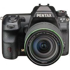 Pentax K-3II 24.35MP DSLR Camera (18-135mm Lens)