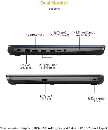 Asus TUF Gaming F15 FX566LI-HN272T Laptop (10th Gen Core i5/ 8GB/ 512GB SSD/ Win10/ 4GB Graph)