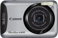 Canon PowerShot A490 10MP Digital Camera