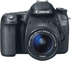 Canon EOS 70D DSLR (EF-S 18-55mm IS STM)