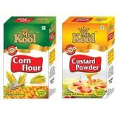 MR. KOOL Corn Flour + Custard Powder (100 Gm)
