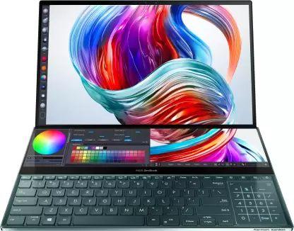 Asus ZenBook Pro Duo UX581GV Laptop (9th Gen Core i7/ 32GB/ 1TB SSD/ Win10/ 6GB Graph)