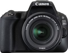 Canon EOS 200D DSLR Camera (EF-S 18-55 IS STM + 55-250mm IS STM Lens)