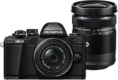 Olympus EM10 Mark II Camera Twin Lens Kit with 14-42 mm& 40-150 mm