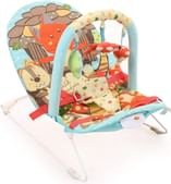 Sunbaby Wild Animal Baby Bouncer (Blue)