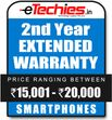 Etechies SmartPhone 1 Year Extended Basic Protection (For Device Worth Rs 15001 - 20000)