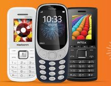 Feature Phones : Upto 40% OFF | All Under Rs. 2,000 Only