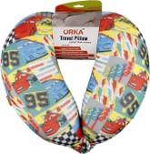"""Orka Polyester Neck Pillow - 14""""x13""""x3"""", Multicolour"""