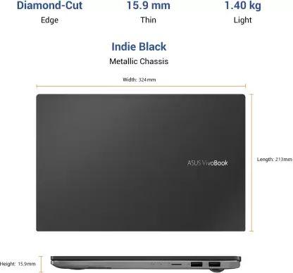 Asus VivoBook S14 M433IA-EB794TS Laptop (Ryzen 7/ 8GB/ 512GB SSD/ Win10 Home)