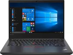 Lenovo ThinkPad E14 20RAS13J00 Business Laptop (10th Gen Core i5/ 8GB/ 500GB HDD/ Win10 Pro)