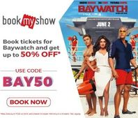Upto 50% OFF on Booking Tickets of Baywatch