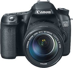 Canon EOS 70D DSLR (EF-S 18-135mm IS STM)