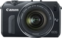 Canon EOS M Mirrorless Digital Camera with 18-55mm Lens