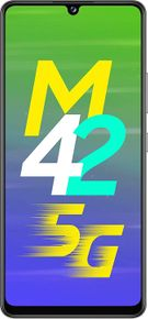 Samsung Galaxy F62 (8GB RAM + 128GB) vs Samsung Galaxy M42 5G