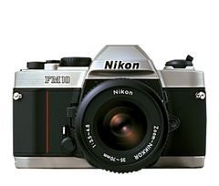 Nikon FM-10 SLR Camera with 35-70mm Zoom Lens
