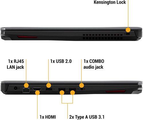 Asus TUF Gaming FX505DT-AL106T  Laptop (AMD Ryzen 5/ 8GB/ 512GB SSD/ Win10/ 4GB Graph)