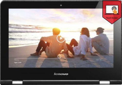 Lenovo 300 Yoga Series 80M0007KIN Laptop (PQC/ 4GB/ 500GB/ Win10/ Touch)