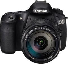 Canon EOS 60D SLR (Kit III EF-S 18-200mm)