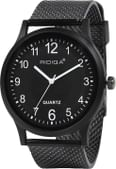 RIDIQA Analog Black Dial Men's Watch RD-202